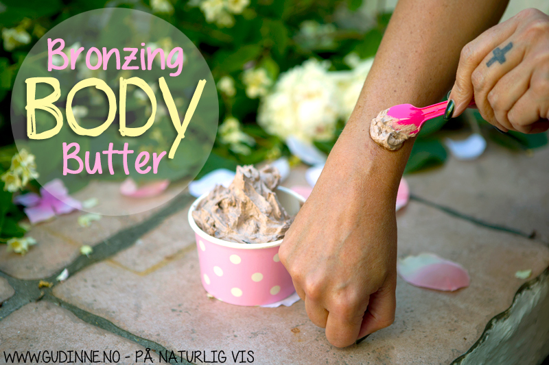 DIY: Bronzing Body Butter